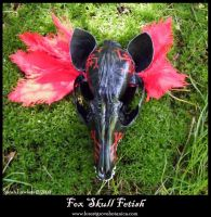 Fox Skull Fetish by Lolair
