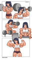 Bicep Grow Part 4 by NeroScottKennedy