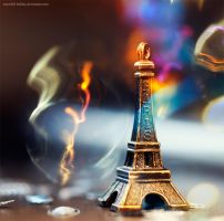rainbow in Paris by Snowfall-lullaby