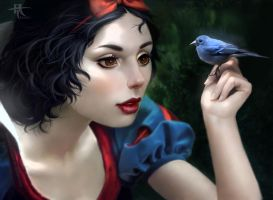 Snow White by Tannany