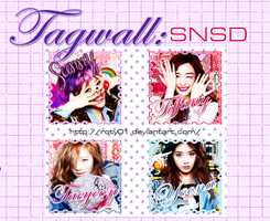 Tagwall SNSD! by Roty01
