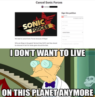 Sonic Fans Force Their Ignorance Once Again. by gameman5804