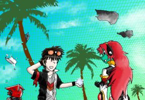 Bits and Bytes OCT PR01: Get to File Island Part 2 by FireReDragon