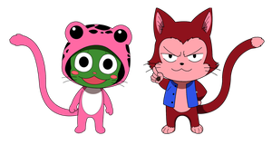 Sabertooth: Frosch and Lector by Jeth-Villar