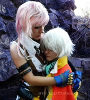 FFXIII: Never Give Up by Kaira27