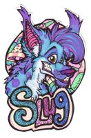 Badge - Slugfoot by misako