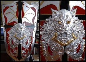 Alucard's Shield: Gilded, painted and varnished! by Elysium-Sans