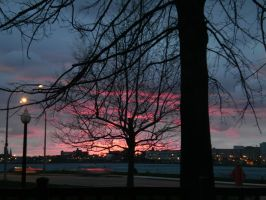 Colourful Dusk by Pentacle5