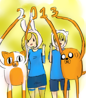 Happy 2013 from AT! by MizukiAoiVV