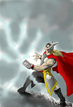Thor pin up by Origa6000