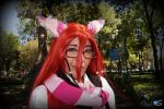 A Grell Chesire cat by BunnySaito