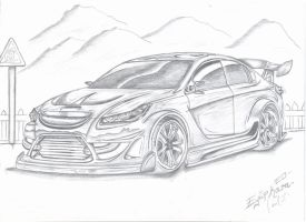 Angry_Opel insignia by eyupdesign