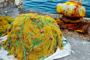 Fishing net - Samos by wildplaces