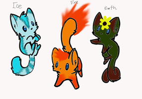 Elemental Cat Adopts ~Open~ by N1GHTWOLFXD