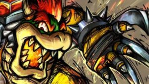 PSP wallpaper Bowser themed by Reigi