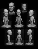 Breaking Bad Bobblehead by TrevorGrove