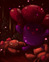 045, 046 : Vileplume use Sweet Scent by littlebuster-k2
