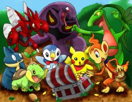 Mystery Dungeon - Pokemon