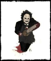 Leatherface by LookAliveZombie