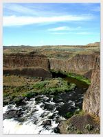 Palouse River Rapids by Aprilvirgo