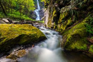 Green Falls by jasonwilde