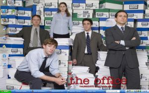 The Office Desk by skittles-and-combos