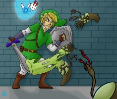 Link vs flood by Baldwin2506