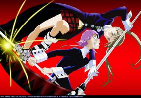 Maka VS Crona by DrLinuX
