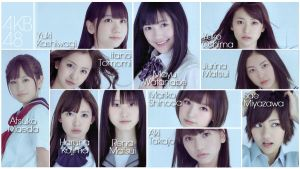 AKB48 Wallpaper by johnsurya