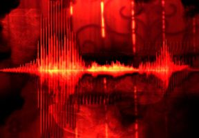 Audio Waveform Art 3 by HaloAskewEnt