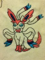 .:Sylveon Embroidery:. by EmbroideryMW101
