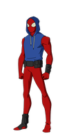Scarlet Spider by SpiedyFan