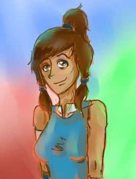 first go at SAI Korra by asimpleparadox