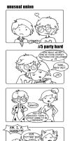 UNUSUAL UNION #5: Party hard by FloraDelaney