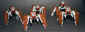 Custom Lego LM-432 Crab Droids by Riser38