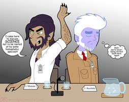 MH: Conference Time by KPenDragon