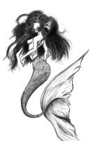 Pinup Mermaid 2 by analoren