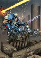 Ultramarine Terminators by SimonPrime