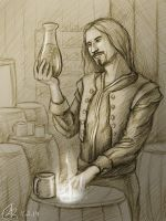 The Arcane Brewer by Belvane