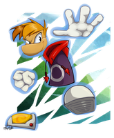 Rayman by Re-RD-Re