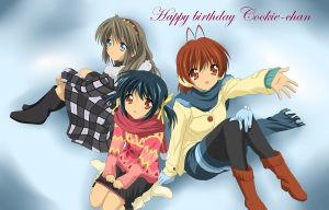 Happy b-day Cookie-chan by Amu---Chii