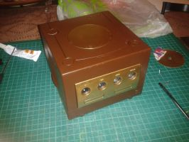 Steampunk Gamecube (WIP) by LordDelightfullyMad