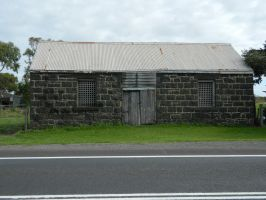 Old Stone Shed 001 - HB593200 by hb593200