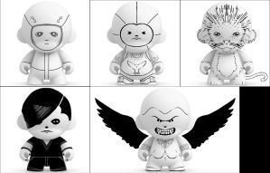 Munny Sketches 3 by MattNeutron