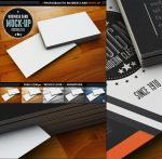Photorealistic Business Card Mock-Up by deiby