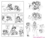 Abi Drotsky Comic Dump - July 2013 by The-Ez
