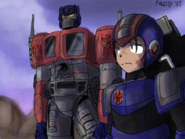 Megaman, Loyal Autobot by General-RADIX