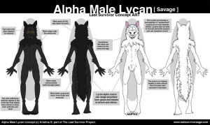 Alpha Lycan Savage Concept by Tylon