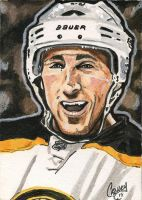 Brad Marchand Art Card by crow30