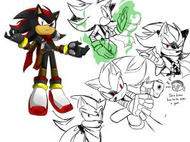 Sonic Boom Shadow(my design) by RednBlackDevil